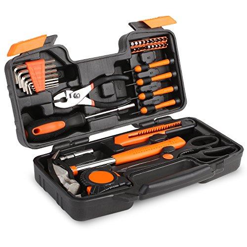 FIXKIT Werkzeugset im Koffer, 39 teilig...