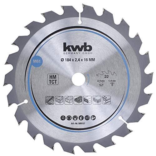 kwb 586157 Span-Platten Kreissäge-Blatt,...