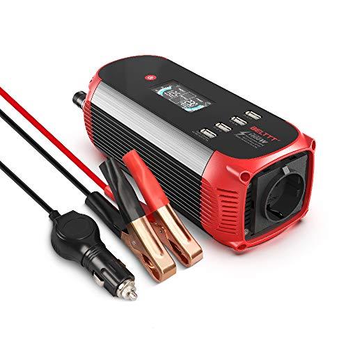 BELTTT Wechselrichter 500W / 12 V auf 230 V...
