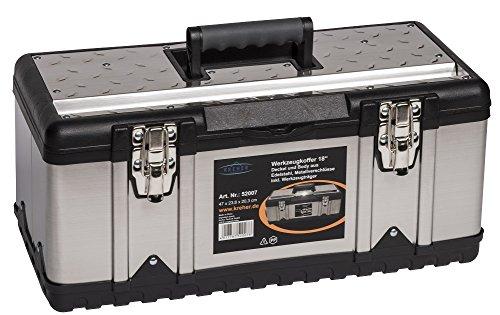 XL Werkzeugkoffer PROFI 18 aus Edelstahl mit...