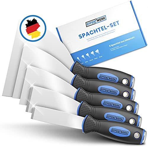 EFFEKTWERK Profi Spachtel Set - 5tlg Spachtel...