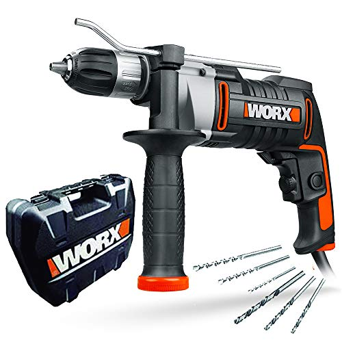 WORX WX318 Schlagbohrmaschine 810W mit...