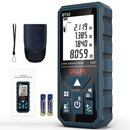 Entfernungsmesser, DTAPE DT50 50M Digitales...