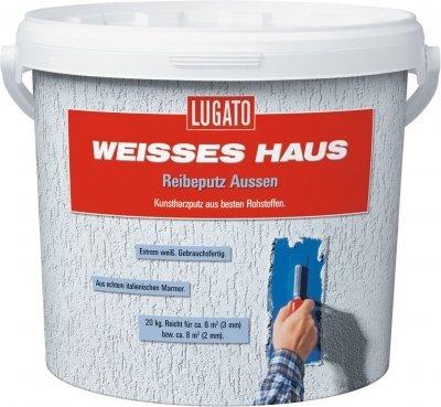 Lugato Weisses Haus Reibeputz Außen 3mm 20...