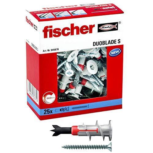 fischer 545676 Gipskartonplatten DUOBLADE S,...