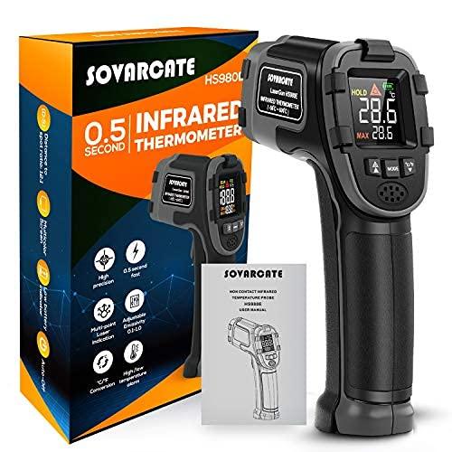 Digitaler Infrarot Thermometer SOVARCATE...