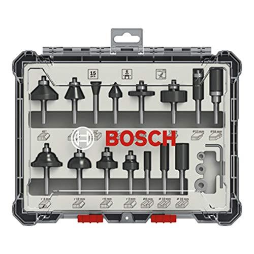 Bosch Professional 15tlg. Fräser Set (für...