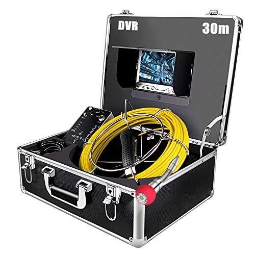 Industrie Rohrkamera 30m mit DVR, 7 inch...