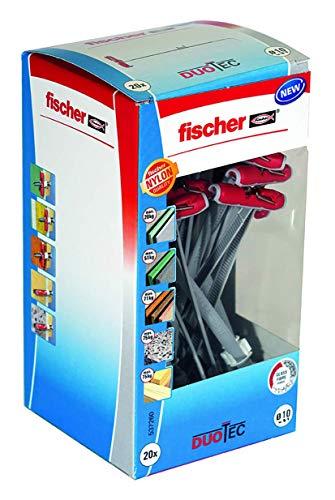 fischer DUOTEC 10 LD - Nylon-Kippdübel für...