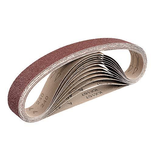 Gewebe-Schleifbänder │ 12 Stück │ 40 x...