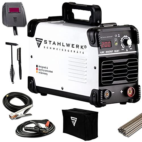 STAHLWERK ARC 200 ST IGBT - Schweißgerät DC...