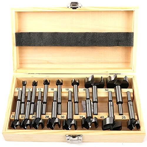 ybaymy 15 tlg Forstnerbohrer Set 10mm - 50mm...