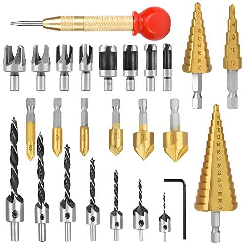 LINGSFIRE 26 tlg Holzbearbeitungswerkzeug...