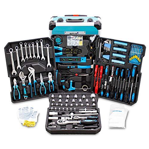 BITUXX® Werkzeugkoffer 1200 teilig Werkzeug...