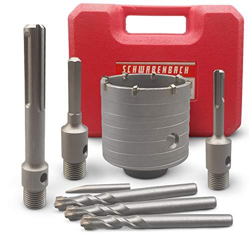 SCHWABENBACH® Hartmetall Bohrkrone 68mm Set...