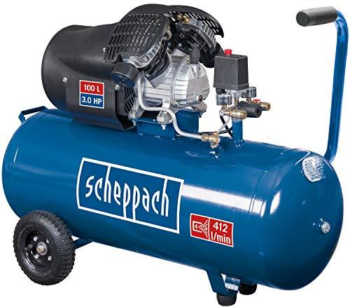 scheppach HC120DC Druckluft Kompressor I 10...