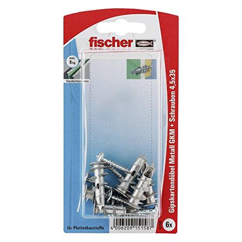 fischer 015158 Gipskartondübel Metall SK...