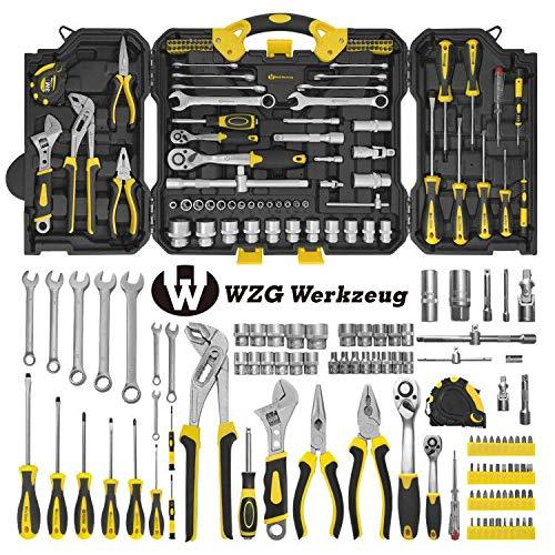 WZG Werkzeug 99 teilig Werkzeugset im Koffer,...