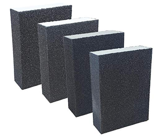 4 x Schleifblock fein - mittel - grob