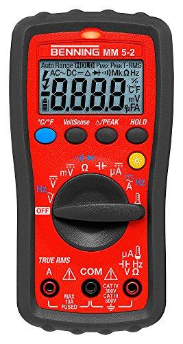 Benning MM 5-2 TRMS-Digital-Multimeter,...