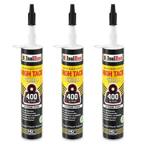 High Tack Montagekleber 3 x 470g MS Polymer...