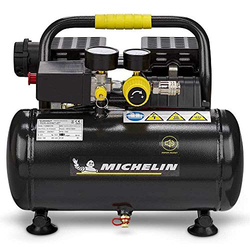 Michelin Druckluft Kompressor MX6 1 leise...