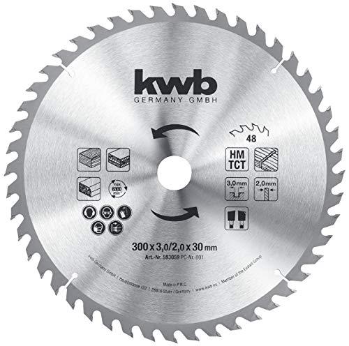 kwb 593059 Baukreissägeblatt 300 x 30,...