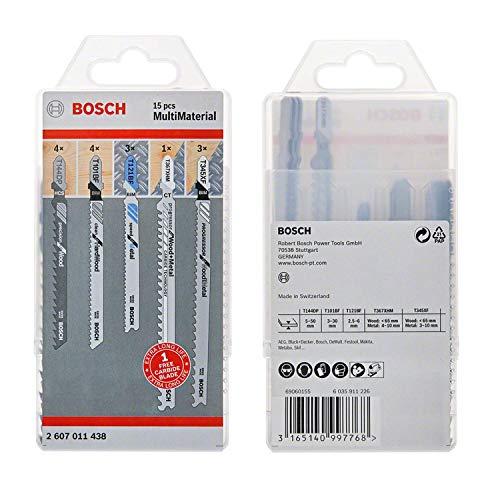 Bosch Professional 15-tlg. Stichsägeblatt...