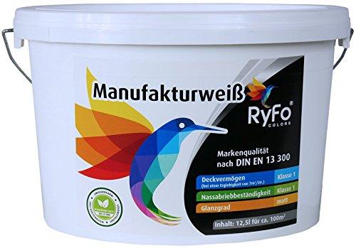 RyFo Colors Manufakturweiß 12,5l (Größe...