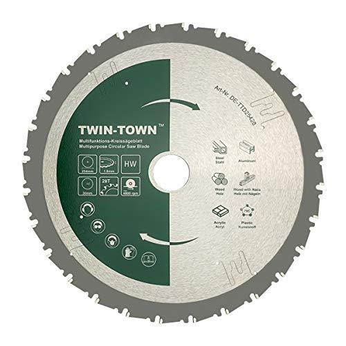 TWIN-TOWN HM Kreissägeblatt Multifunktions...