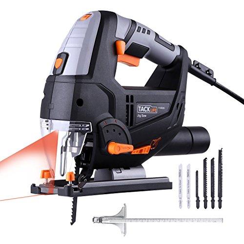 TACKLIFE 800W Elektro Stichsäge mit Laser &...