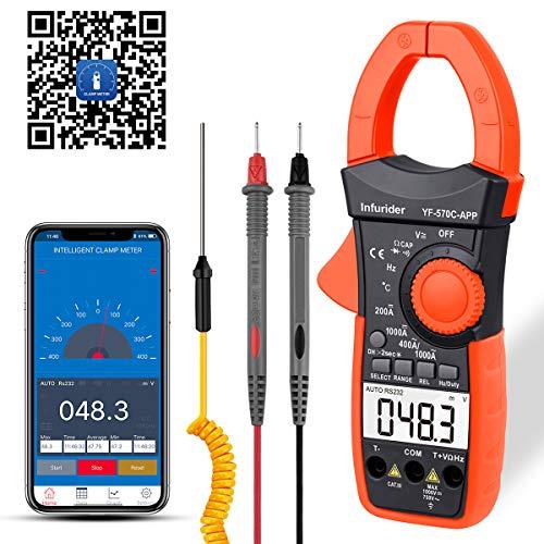 INFURIDER Digital Clamp Meter Stromzange...
