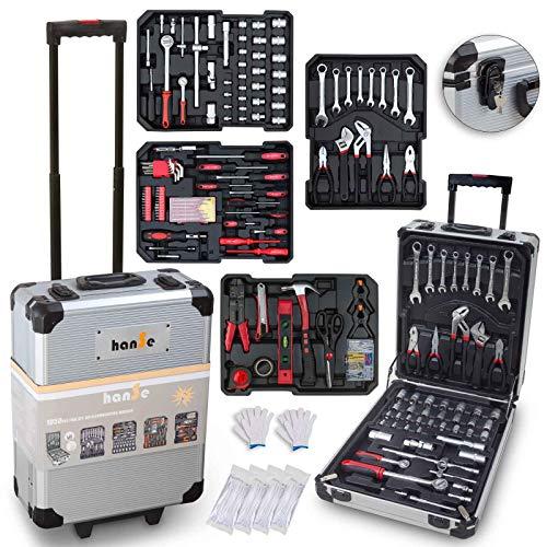 hanSe® Werkzeugkoffer Maxi 1050-teilig...