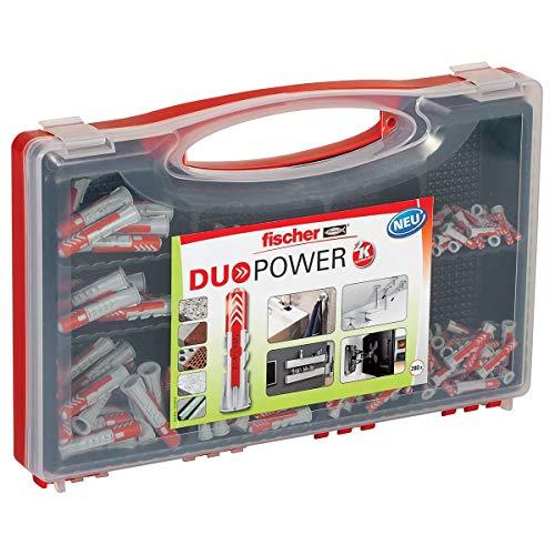 fischer RED-BOX DUOPOWER, Sortimentbox mit...