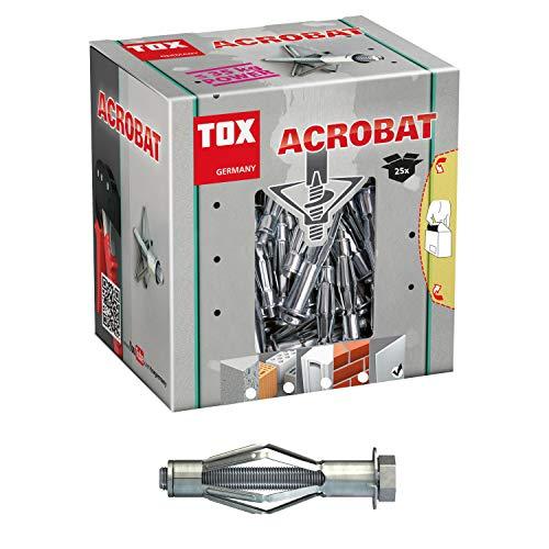 TOX Metall-Hohlraumdübel Acrobat M8 x 68 mm...