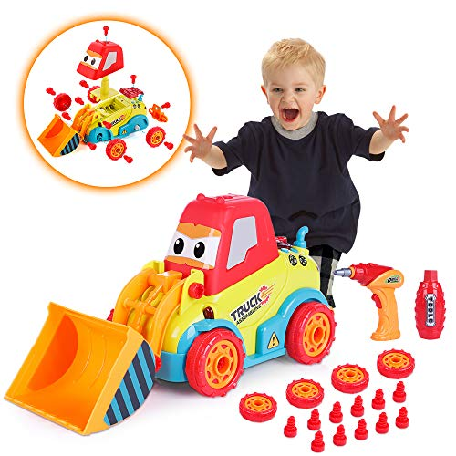 VATOS Bulldozer Spielzeugautos für...
