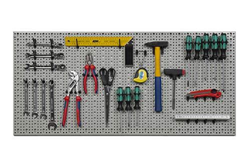 XXL Werkzeugwand aus Metall mit Stärke ca. 1...