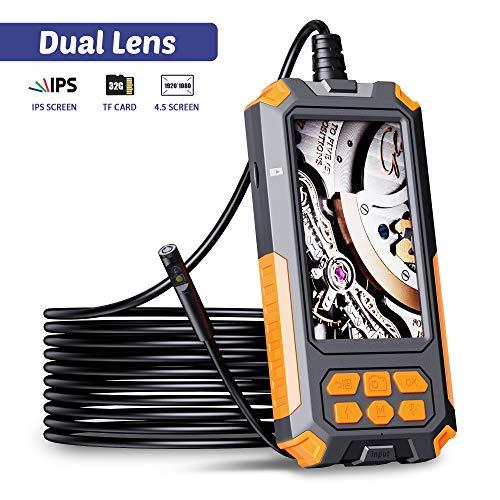 ILIHOME Dual Kameras Endoskopkamera,...