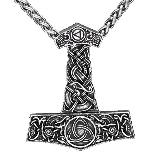 Viking Thor 's Hammer Thorhammer Anhänger...