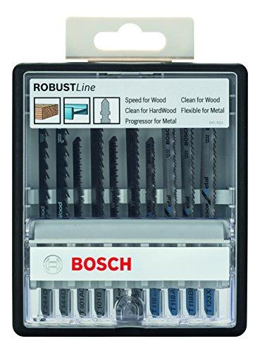 Bosch Professional 10tlg. Stichsägeblatt-Set...