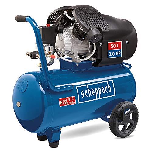 scheppach HC52DC Kompressor -Doppelzylinder...