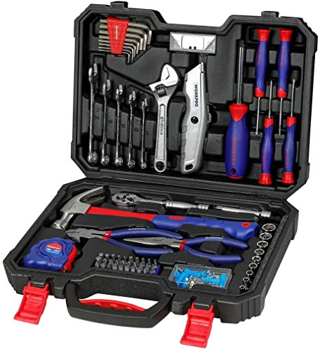 WORKPRO Werkzeugkoffer Home Reparatur...