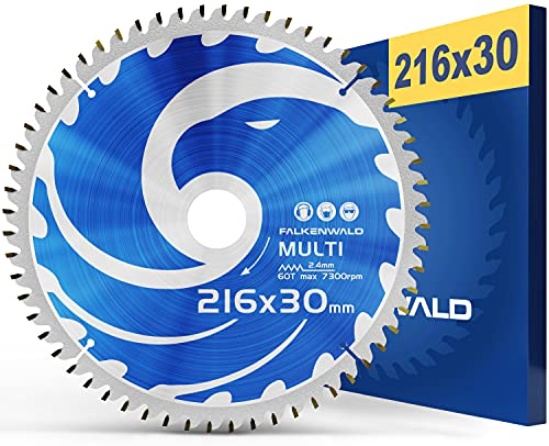 FALKENWALD ® Kreissägeblatt 216x30 mm ideal...