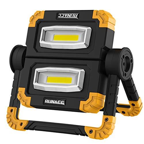 RUNACC Faltbares LED Arbeitsleuchte...