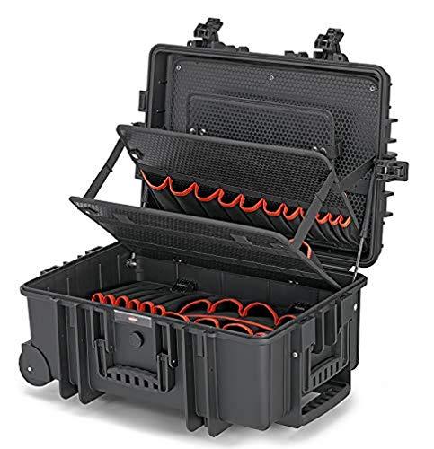 KNIPEX Werkzeugkoffer 'Robust45 Move' leer 00...