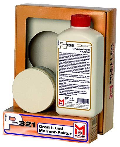 Moeller Stone Care HMK M529 Marmor-Polier-Set...