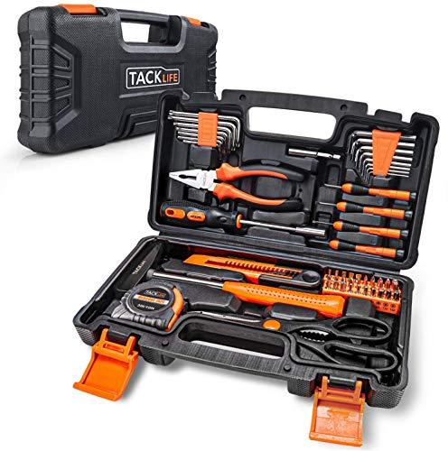 Haushalts-Werkzeugkoffer,TACKLIFE 56-teilig...