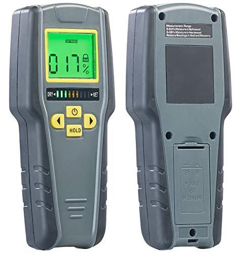 AGT Feuchtigkeitsmessgerät: Digitaler...