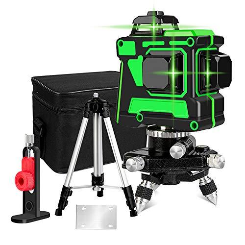 3D 12 Laserlinie Kreuzlinienlaser,3x360...