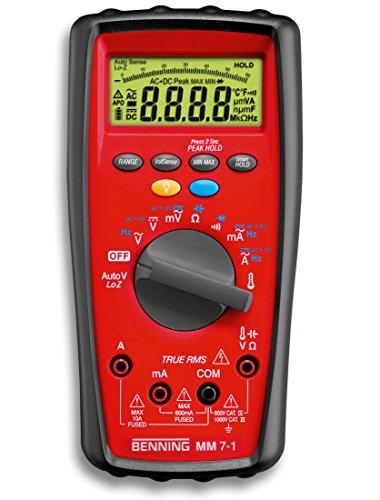 Benning MM 7-1 Digital-Multimeter TRUE-RMS,...